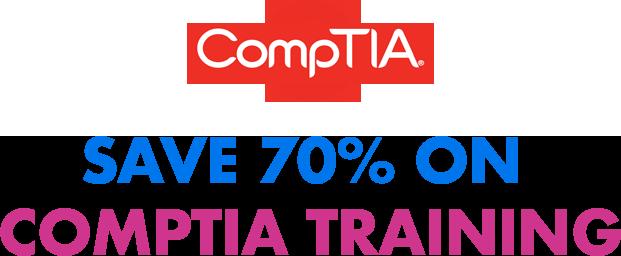 Save 70% On CompTia