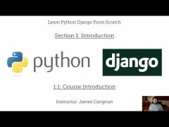 Course 15: Learn Python Django From Scratch