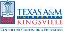 Texas A&M Kingsville Center For Continuing Education Powered By QuickStart