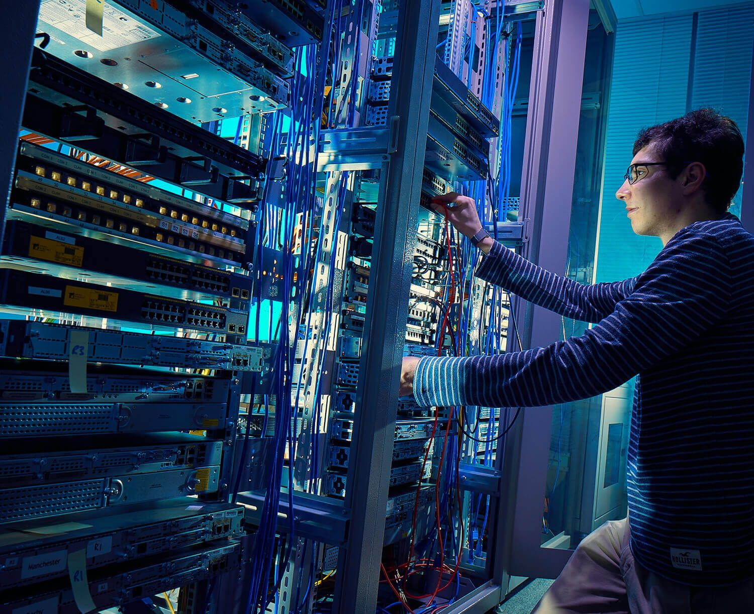 The Leader in Networking: Cisco