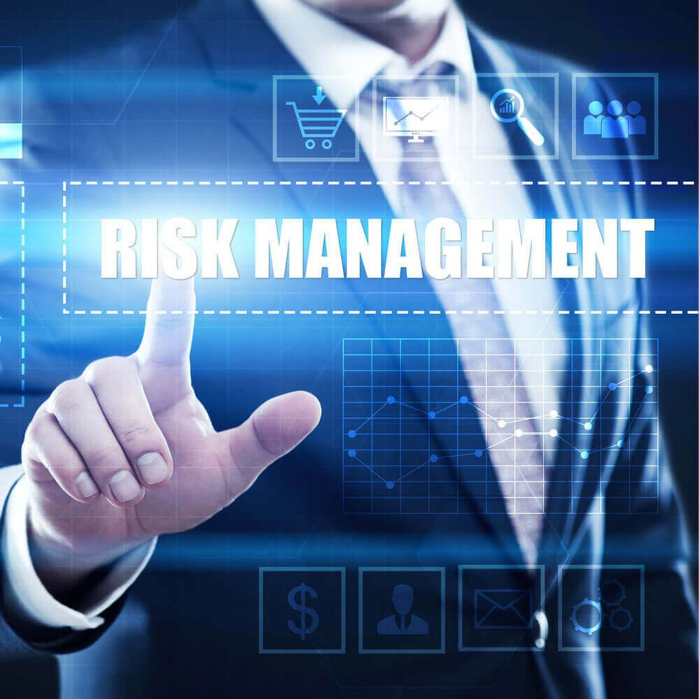 What is risk management in cyber security?