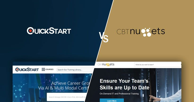 QuickStart vs. CBT Nuggets - Choose Wisely!