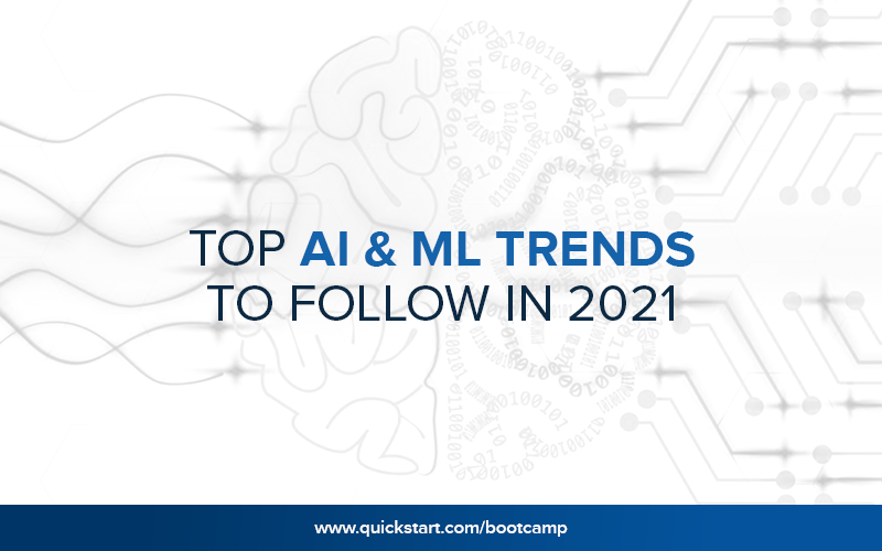 Top AI & ML Trends to Follow In 2021