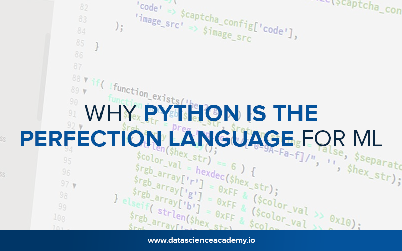 Why Python Is the Perfection Language for ML